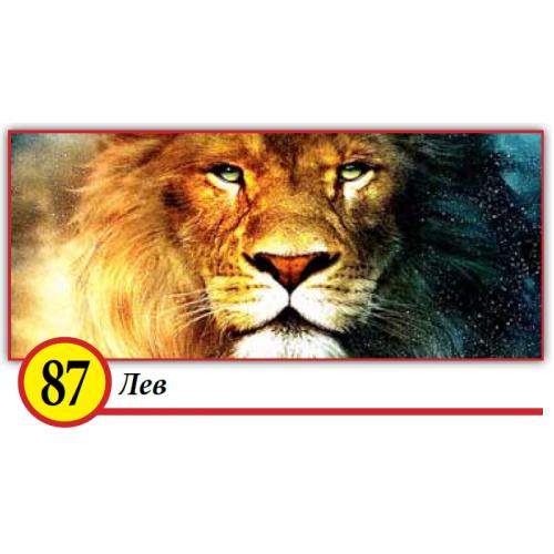 87. Лев