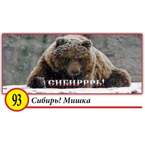 93. Сибирь! Мишка