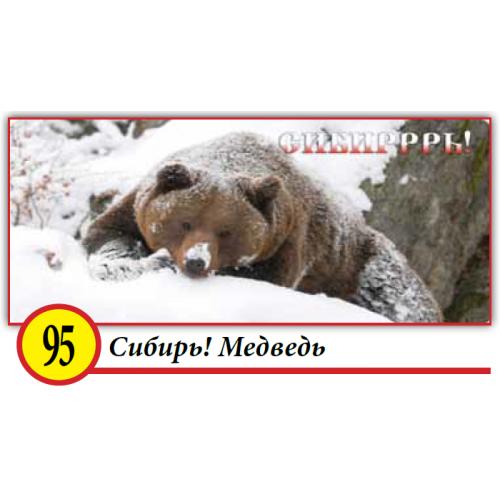 95. Сибирь! Медведь