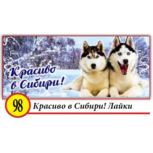 98. Красиво в Сибири! Лайки